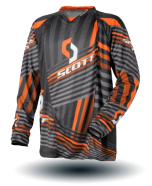 Dres cross Scott 250Series org/blk